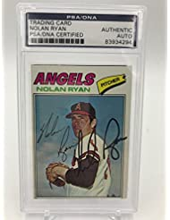 1977 Topps Nolan Ryan Baseball Heroes Signed Autographed Baseball Card PSA DNA