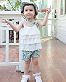 Toddler Baby Girl Summer Clothes Outfits Floral