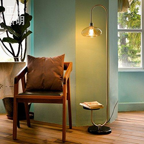 LIURONG Wohnzimmer-Stil Stehleuchte, moderne einfache Iron Creative Creative Creative Design Lampen (Farbe   A) B07F15SH7M   Authentisch  a442fe