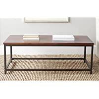Safavieh American Homes Collection Alec Distressed Red Barn Coffee Table
