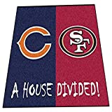 House Divided - Bears / 49ers House Divided Rug