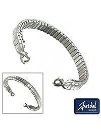 """Speidel Stainless Steel Watch Band 5 3/4"""" Hook End C Ring Gate Ladies"""