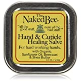 Naked Bee Orange Blossom Honey Hand and Cuticle Healing Salve, 1.5 Ounces