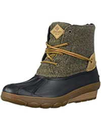 Women's Saltwater Wedge Tide Wool Rain Boot