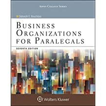 Business Organizations for Paralegals (Aspen College Series)