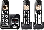 Panasonic KX-TG833SK Link2Cell - Teléfono inalámbrico con Bluetooth con identificador de Llamadas (renovado)