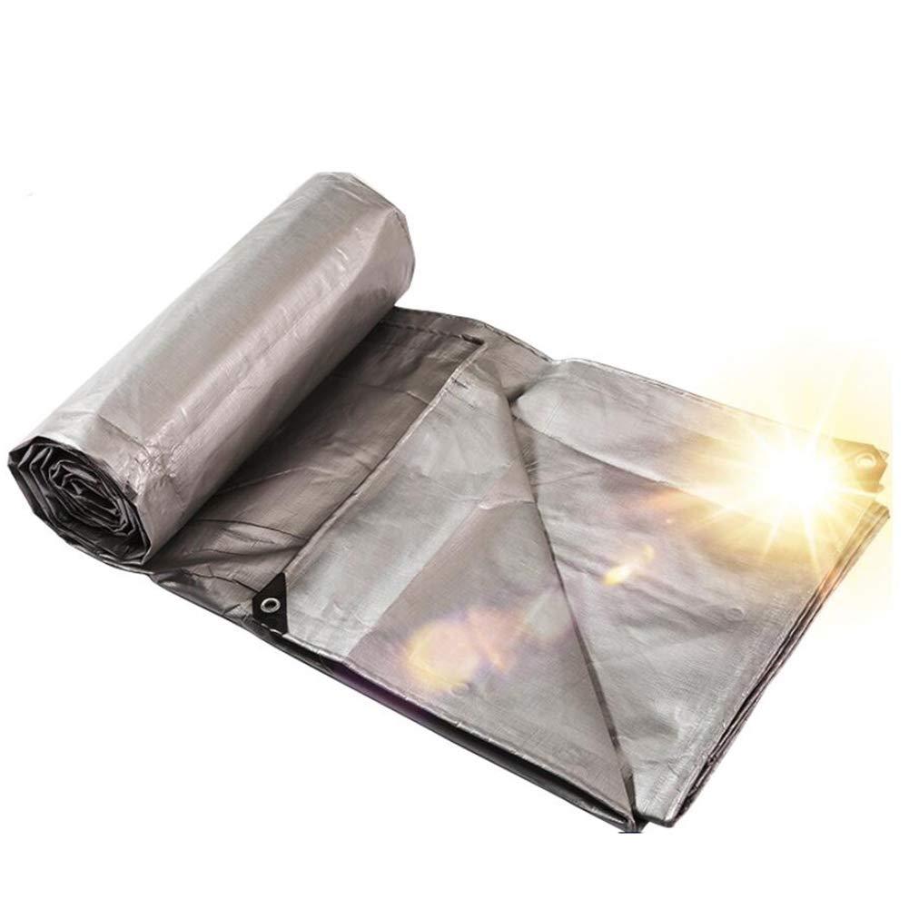 DLDL Verdicken Sie Plane Wasserdichte Plane Heavy Duty staubdicht Plane Ground Sheet Covers verstärkt Regen Regen Sonnenschutz Outdoor 220g   (größe   8×10m)