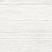 NuWallpaper NU2187 Shiplap Peel & Stick Wallpaper