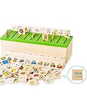 Niños Educativos Rompecabezas Juguete Bebé Preescolar ABC Alfabeto Tarjetas Juguetes cognitivos Animal Juguetes