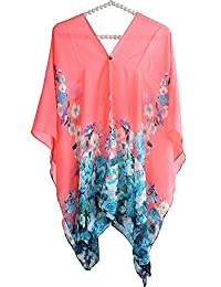 MissShorthair Women's Fashion Swimwear Beachwear Bikini Coverup Beach Dress Tops