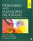 Designing and Managing Programs: An