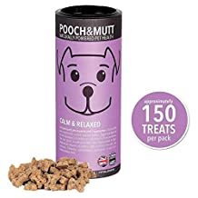 Pooch & Mutt Calm & Relaxed Mini Bone Treats For Dogs 125g (PACK OF 4)