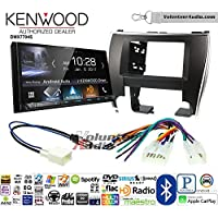 Volunteer Audio Kenwood DMX7704S Double Din Radio Install Kit with Apple CarPlay Android Auto Bluetooth Fits 2015-2017 Non Amplified Toyota Camry