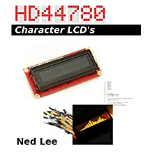 HD44780 Character LCD's