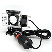 SJCAM Original Motorcycle Kit Waterproof Case + Car Charger for Sports Camera SJCAM SJ4000 series,OEM SJ6000/SJ7000/SJ8000/SJ9000 Series on Motorcycle