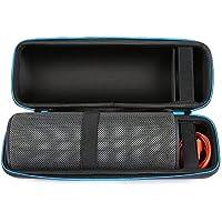 Poschell Hard Carring Case Shockproof Shell Travel Storage Bag for Logitech UE Megaboom Portable Bluetooth Speaker (Black)