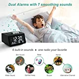 【2021 Newest】 ANJANK Small Digital Alarm Clock