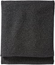 Pendleton, Eco-Wise Washable Wool Blanket, Charcoal, Queen