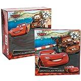 Disney Pixar Cars 2 Lenticular Puzzle [24 Pieces - Lightning McQueen]