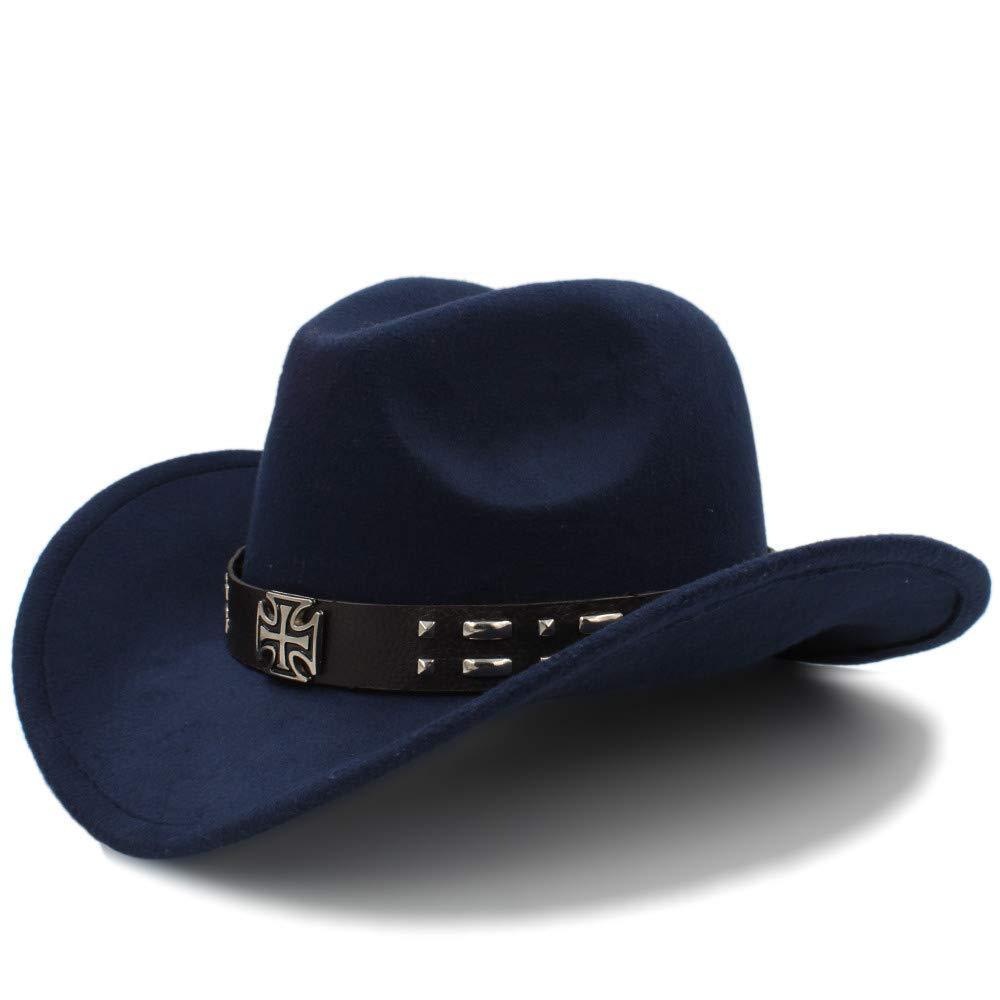 Gwanna Cappelli di Cowboy Occidentale Cool Uomini Cappellino di Visiera di Sole Donne Viaggio Cappello Occidentale Chapeu Cowboy Equestrian cap Molto Morbido e Comodo da Usare