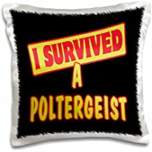 Dooni Designs Survive Sayings - I Survived A Poltergeist Survial Pride And Humor Design - 16x16 inch Pillow Case (pc_117655_1)