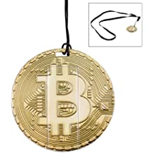 Bitcoin Flash Drive – 16GB USB 2.0 Memory Stick - Crypto Coin Thumb Drive (Gold)