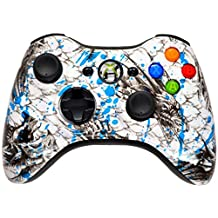 ICE DRAGON 5000 + Modded Xbox 360 Controller Hydro Dipped Mod with Rapid Fire / Jitter / Quick Scope / Sniper Breath / Drop Shot / Jump Shot / Auto Aim / Quick Aim / Burst / Akimbo / Mimic / Adjustable / Adjustable Burst / Auto Burst / Dual Trigger and more! For COD Ghosts / MW1 / MW2 / MW3 / Black Ops 1 / Black Ops 2 / WAW / Gears of War Series / Halo Series / GTA / BF and more! 5500