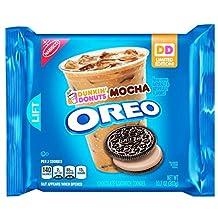 Oreo New Limited Dunkin Donuts Mocha Sandwich Cookies 10.7 oz