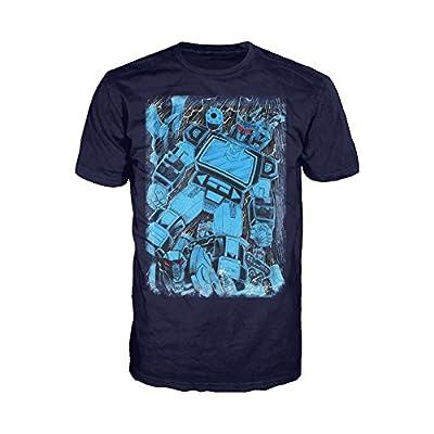 Urban Species Transformers Soundwave Family Official Men's T-Shirt (Navy)