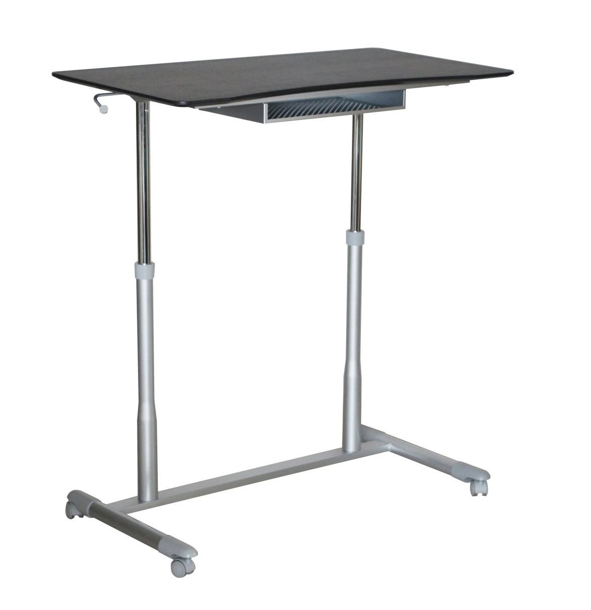 Amazon.com: Unique Furniture 205 ESP Height Adjustable Sit Stand Desk With  Espresso Top: Kitchen U0026 Dining