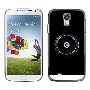 LECELL -- Funda protectora / Cubierta / Piel For Samsung Galaxy S4 I9500 -- dj cd cdj cdj music --