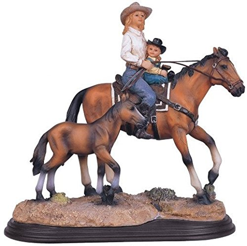 GSC StealStreet SS-G-11344, Mother & Daughter on Horse Co...