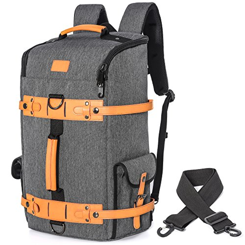 Travel Backpack, Veckle Anti Theft Multifunction Duffel Bag Lightweight Backpack Water Resistant Laptop Backpack Daypack Weekender Bag Shoulder Hiking Backpack for Men, fit 17.3 Inch Laptop Notebook