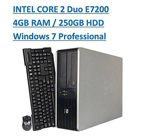 最も優遇 HP Windows 7 Pro Small Form 7 Factor Desktop Refurbished) Windows computer PC Intel E7200 2.53GHz Dual-Core 4GB RAM 250GB SATA Windows 7 Professional 64-Bit (Certified Refurbished) [並行輸入品] B06XXHPJ77, TopTuner:d55130ef --- arbimovel.dominiotemporario.com