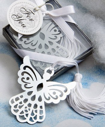 - Book Lovers Collection angel bookmark favors, 40