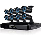 Night Owl Security B-AZ16-8HD7-2 16 Channel Smart HD Video Security System with 720p HD Cameras (Black)