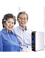 Draagbare zuurstof generator Concentrator Zuurstofconcentrator 40% High Purity 1-1L / Min voor thuis, op reis, Auto Gebruik
