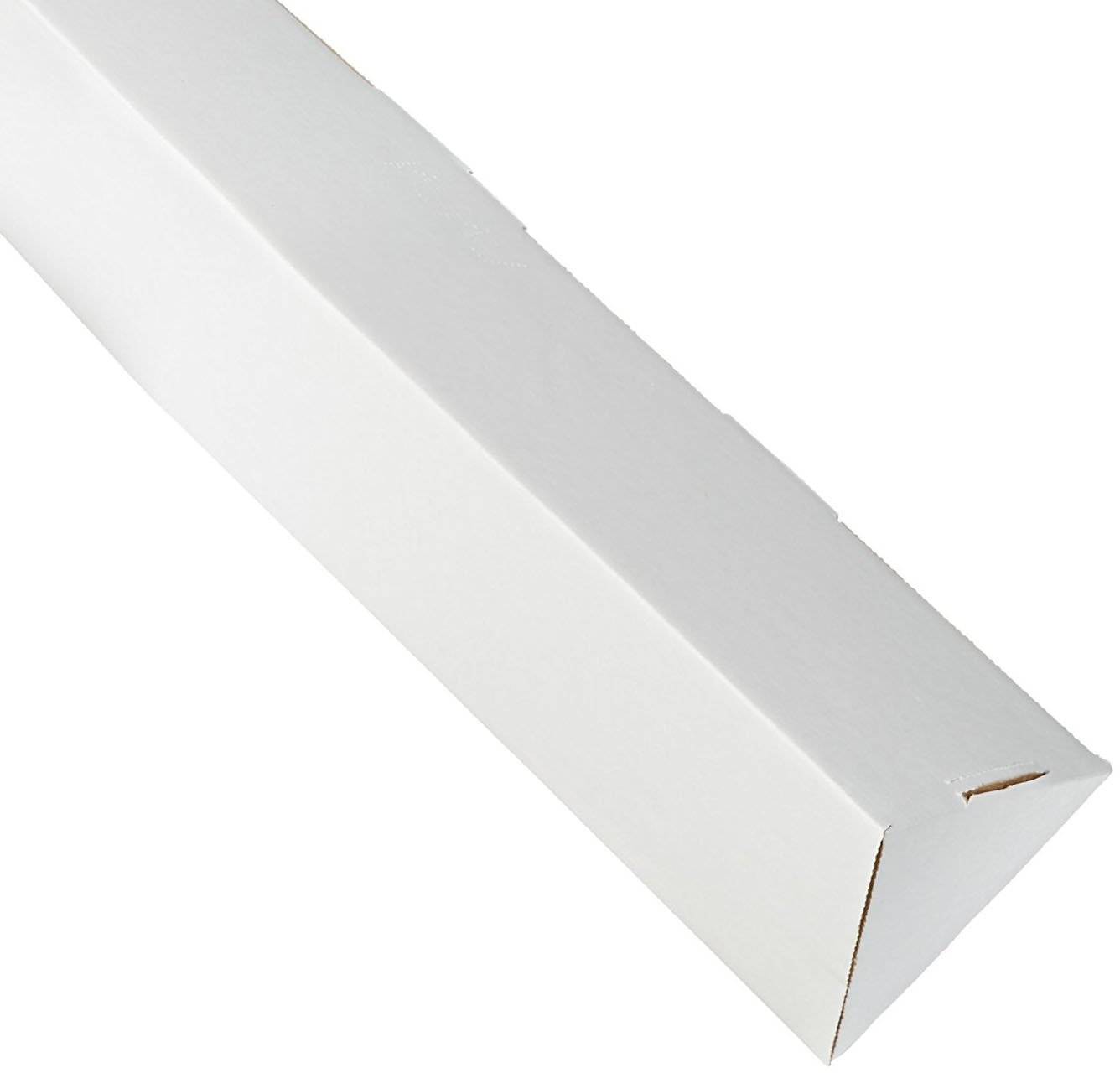 RetailSource MTM224x1 2 x 24 1 4 White Triangle Mailing tubes 1 Tube
