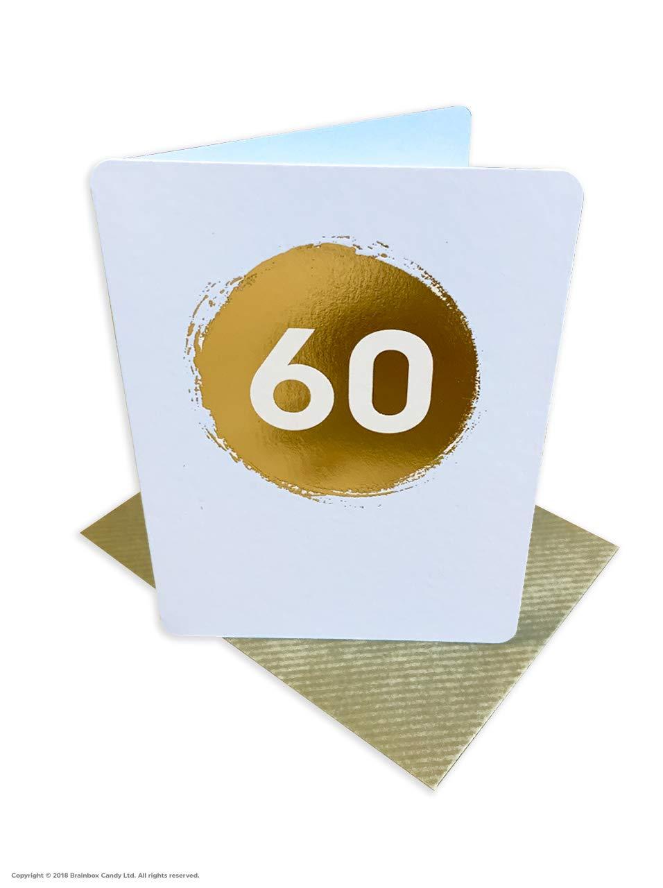 Tarjeta de felicitación de 60 cumpleaños con texto en inglés ...