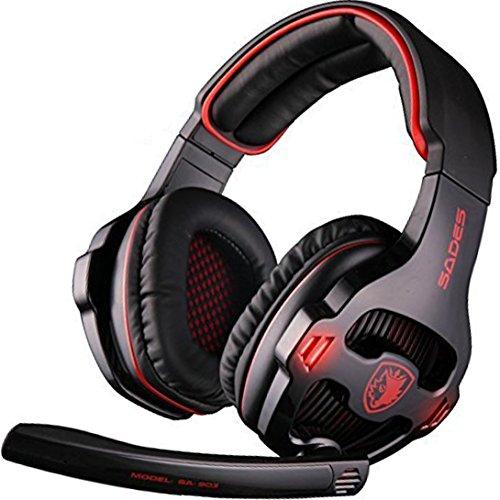 SADES SA903 Surround Headphone Microphone