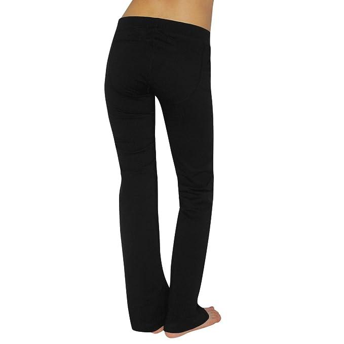 23a9c6af70 Womens Marika Magic Comfortable Casual-wear Lounge pants / Yoga Pants -  Black (Size: S) at Amazon Women's Clothing store: