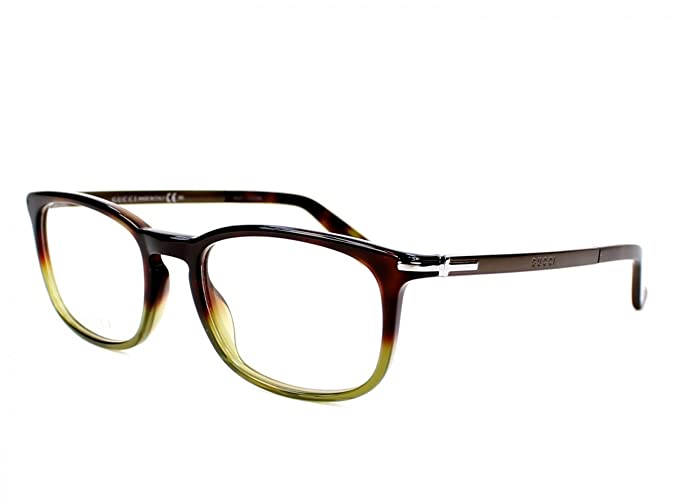 e6e09ac82ca Image Unavailable. Image not available for. Colour  Optical frame Gucci  Acetate Havana - Green ...