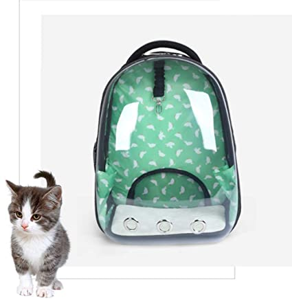 81c917100d59 Amazon.com   HoLiv Pet Carrier Backpack Portable Space Capsule Dog Cat  Transparent Backpack   Pet Supplies