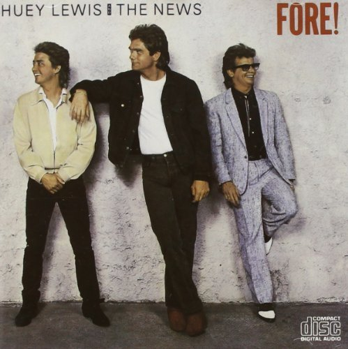 Price comparison product image Fore! by Huey Lewis & The News [Music CD]
