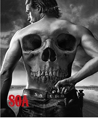 Sons of Anarchy Luxury Plush Throw Blanket JAX (Jackson Teller) with Sherpa Lining