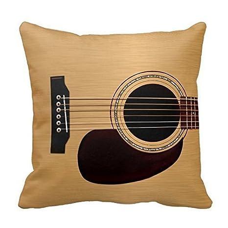 Bgejkos Funda de Almohada Spruce Top Guitarra acústica ...
