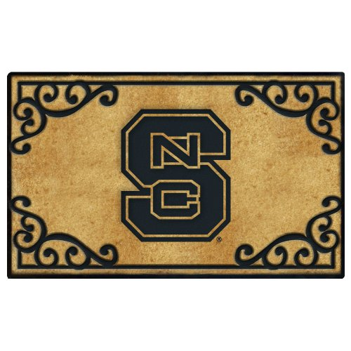North Carolina State Door Mat - Collegiate Coir Mat
