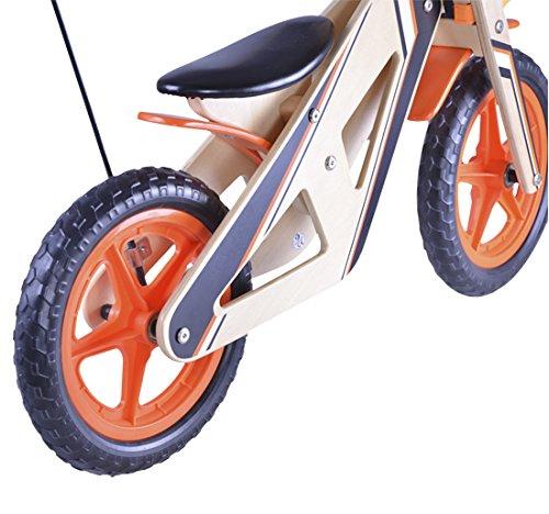 HOMCOM Correpasillos Andador Moto Madera 85x41x574 cm 2 ...