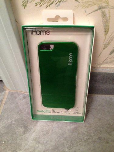 iHome IH 5P100G Metallic iPhone Green
