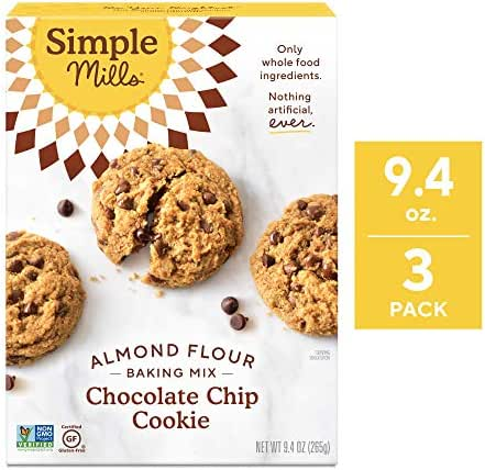 Baking Mixes: Simple Mills Chocolate Chip Cookie Almond Flour Mix